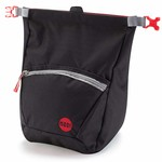Moon Climbing Bouldering Chalk Bag, jet black