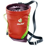 Deuter Gravity Chalk Bag II, Größe L, papaya-aubergine