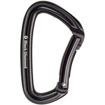 Black Diamond Positron Schnappkarabiner, bent, black