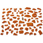 Moon Climbing Power Grips Set B Klettergriffe, moon orange