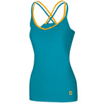 Ocun Women´s Corona Top, M, blue/yellow