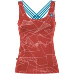 E9 Women´s Noa Tank Top, S, wine