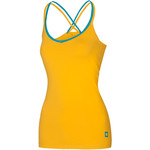 Ocun Women´s Corona Top, L, golden yellow/blue
