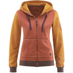 Red Chili Women´s Bege Zip Hoody, S, papaya