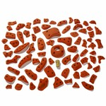 Moon Climbing Power Grips Set A Klettergriffe, moon orange