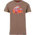 La Sportiva Van 2.0 T-Shirt, S, falcon brown