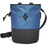 Black Diamond Mojo Zip Chalkbag, S/M, astral blue/slate
