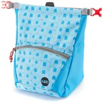 Moon Climbing Bouldering Chalk Bag Retro Moon, blue jewel