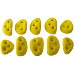 Metolius PU Screw-On Handholds Klettergriffe, 10er Pack - Incut Edges
