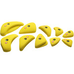 Ocun Holds Set 4 Edges Klettergriffe, yellow