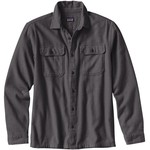 Patagonia Fjord Flannel Shirt Langarmhemd, L, forge grey