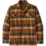 Patagonia Fjord Flannel Shirt Langarmhemd, S, plots / burnished red
