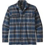 Patagonia Fjord Flannel Shirt Langarmhemd, L, independence / new navy