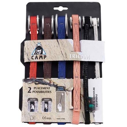 Camp Tricam Klemmkeil-Set 6 Stück, Größen 0.125-2.0 im Klettershop ...