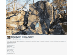 Southern Hospitality - Bouldern in den USA