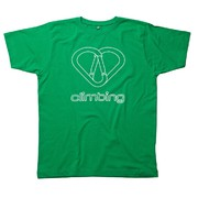 Climblements Jungs Love Green T-Shirt