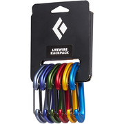 Black Diamond LiteWire Rackpack Schnappkarabiner